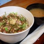 蝦夷屋 - 牛トロフレーク丼