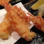 魚真 - 活きの車海老天ぷら