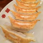香蘭 - 焼餃子 250円