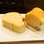 トラットリア チェーロ - パスタランチ(自家製パン)
