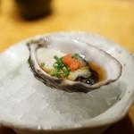 鮨 銀座 鰤門 - 牡蠣