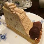 椿屋カフェ - モンブラン