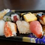 河合寿司 - 料理写真:握り1200円