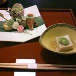 3461125 - 10年3月おもてなし懐石・八寸と桜ごま豆腐