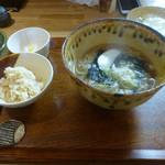 堂源 - ランチのかけ蕎麦