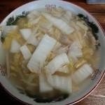 しゃんタンメン - タンメン650円