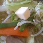 赤胴ラーメン - 野菜塩         バター無料