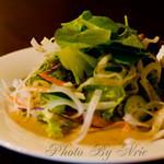 藺家 - 前菜サラダ