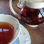 ギャラリー萌木 - 紅茶  セーデルブレンドティー 香りがとても良く フルーティ  ノーベル賞授賞式後の晩餐会などでも 出される紅茶らしいです。