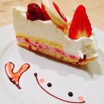 サンデーブランチ - パルコアラのケーキ