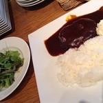メゾンブランシュ - サラダ&煮込みハンバーグ