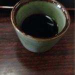 手打そば 平野屋 - ザル蕎麦の汁