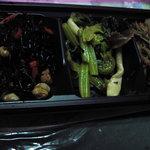 おそうざい菜の花 - 惣菜3点盛り