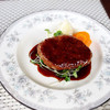 山の洋食屋 フレール - 料理写真:赤牛ハンバーグセット 1580円