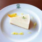 BEAR - レアチーズケーキ(柚子ソース)