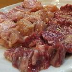 炭火焼肉あずさ - 料理写真:塩3種盛り