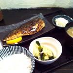 34624863 - さばの塩焼定食750円 (2015-01)