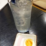 居酒屋すな川 - レモンハイ380円