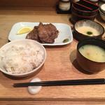 34628802 - 牛たん定食(とろろ付き) 2015.01