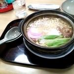 食堂 あき - 鍋焼うどん850円位