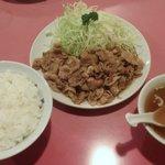 赤尾飯店 - スタミナ定食