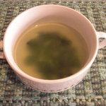 ビストロ サザンウインド - スープは共通です。