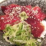 新和食 伊達 - まぐろの漬け丼