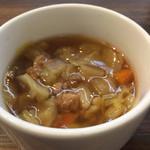 34631883 - 《ライスセット》のスープ