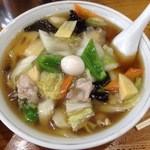 芳月園 - うまにそば、要は広東麺か