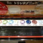 回転さかなや寿司・魚忠  - 2015.01 皿の種類は9種類、130,170,210,270,350,400,470,520,600円、正直細かすぎてわかりません:汗