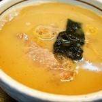 大阪大勝軒 - チャーシューつけ麺(並盛)つけ汁