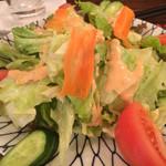 手羽市 - 野菜サラダ 550円