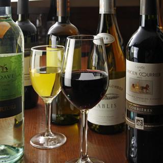 世界のワイン飲み比べ