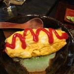 はく - 春野菜オムレツ@1,200円