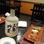 はく - 麦焼酎博多の華ボトル