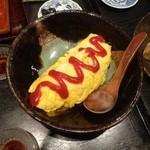 はく - 春野菜のオムレツ1,200円