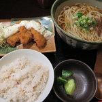 粋玄 - ランチ「タルタル白身魚定食 890円」