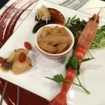 海凰 - 広東式  旬のオードブル盛り合わせ