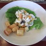 カフェ 彩の森 - セットのサラダ