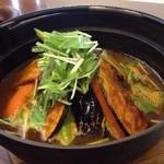 リスボン - 野菜 スープカレー 辛口
