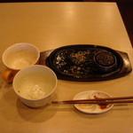 TOKIO - 料理の写真を撮り忘れましたが完食です。