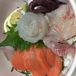 膳家 小山 - 海の幸丼
