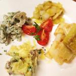 ダイチ アンド トラベルカフェ - 野菜のオードブル