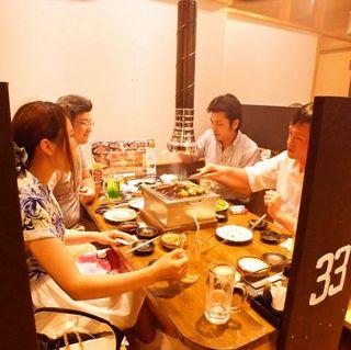 七輪焼肉 安安 - テーブル 4名様