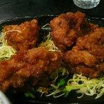 醤じゃん - 鶏肉の甘辛揚げ