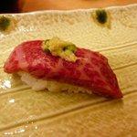 ひょうたん寿司 - 佐賀牛刺身