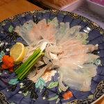 ひょうたん寿司 - とらふぐ刺身