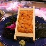 ひょうたん寿司 - うに一枚
