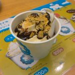 3465358 - やわらかいアイスクリームは4種類の味(ソース)が味わえます!水戸ならやっぱり梅味かな?