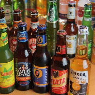 世界各国のボトルビール